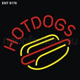 8178 hot dogs neon