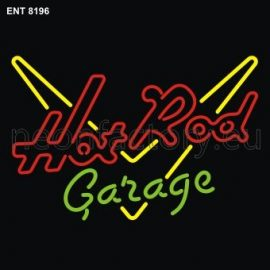 8196 Hot Rod garage neon