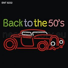 8232 Back to the 50s with car neon