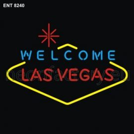 8240 welcome las vegas neon