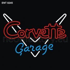 8245 corvette garage neon