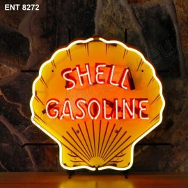 ENT 8272 Shell neon automotive neonfactory motorcycle neon designs logo fifties petrol companies