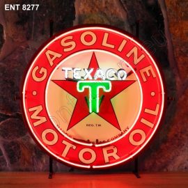 ENT 8277 Texaco neon automotive neonfactory motorcycle neon designs logo fifties petrol companies