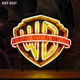 ENT 8327 Warner Brothers neon sign film neonfactory movies neon designs logo fifties