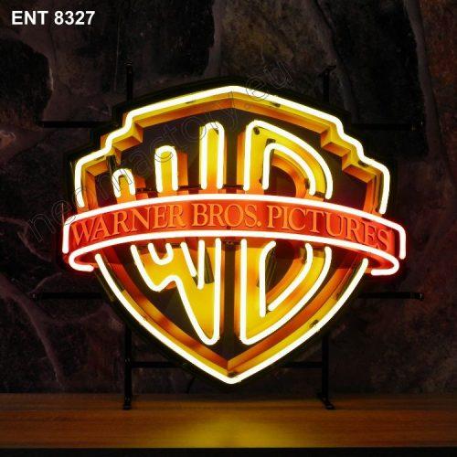 ENT 8327 Warner Brothers neon sign neonfactory film movies neon designs fifties Neonschild Neonbeleuchtung