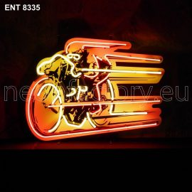 ENT 8335 board track cafe racer neon sign automotive neonfactory neon designs scooter logo fifties motorcycle brands