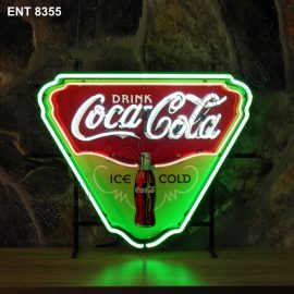 ENT 8355 Coca-Cola drink cold fifties neon sign neonfactory neon designs logo fifties Rock and roll jukebox