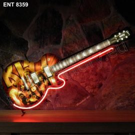 8359 KISS guitar neon Neonfactory