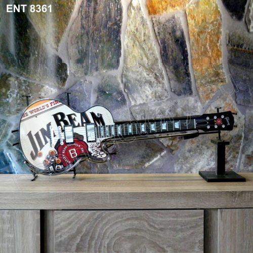 8361 Jim Beam neon guitar off Neonfactory