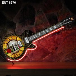 8370 Guns n Roses neon guitar Neonfactory