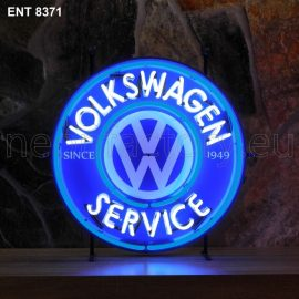 ENT 8371 Volkswagen service neon sign automotive auto car neonfactory neon designs logo fifties