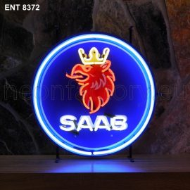 ENT 8372 SAAB neon sign automotive auto car neonfactory neon designs logo fifties