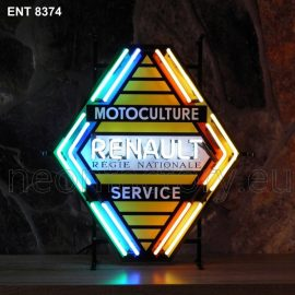 ENT 8374 Renault service neon sign automotive auto car neonfactory neon designs logo fifties