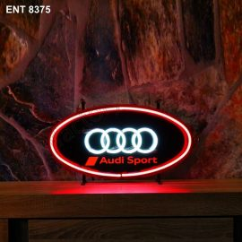 ENT 8375 Audi Sport neon sign automotive auto car neonfactory neon designs logo fifties