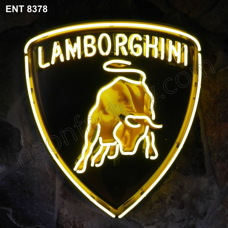 Lamborghini Neon Sign 8378 High Quality Very Affordable And Fast