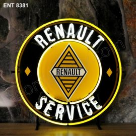 ENT 8381 Renault service neon sign automotive auto car neonfactory neon designs logo fifties