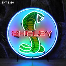 ENT 8386 Shelby neon sign automotive auto car neonfactory neon designs logo fifties