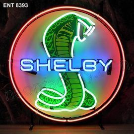 ENT 8393 Ford Shelby Cobra neon sign automotive auto car neonfactory neon designs logo fifties