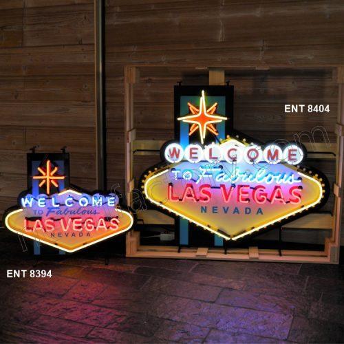 ENT 8404 Welcome to Las Vegas neon sign neonfactory neon designs logo fifties