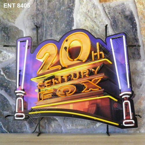 ENT 8405 20th century fox neon fabbrica al neon progetta anni Cinquanta films movies Neonfactory fifties