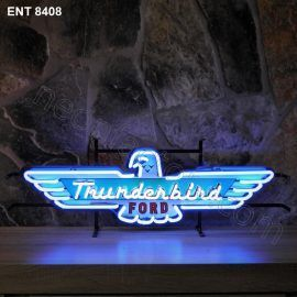 ENT 8408 Ford Thunderbird neon sign automotive auto car neonfactory neon designs logo fifties