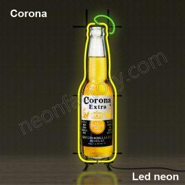 LED Neon Corona Neonled brands brandmark logo name tekst bar restaurant mancave neonfactory