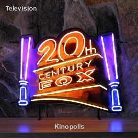 Television Neon Kinopolis 20th century fox Film Movies theater logo name text bar restaurant neonlight project neonfactory stage