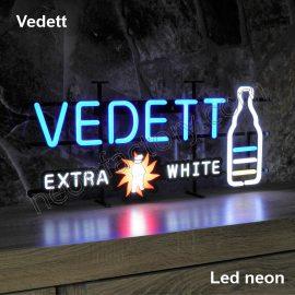 LED Neon Vedett Neonled brands brandmark logo name tekst bar restaurant mancave neonfactory