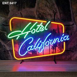 ENT 8417 Hotel California original neon